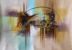 A Rainy Day By Vkalart, Acrylic Paiting (katalaynet) Tags: follow happy me fun photooftheday beautiful love friends