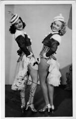 Jill Anstey 1948 (BasiliskSam) Tags: windmilltheatre jillanstey lisbethkearns revudeville dancinggirls costumes
