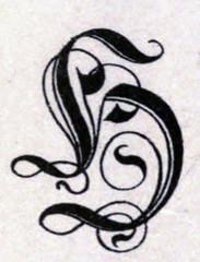 "Heavily Ornate Letter ""H"" (sjrankin) Tags: 19november2018 edited scanned library internetarchive artofillumination alphabet character letter illuminated historic h"