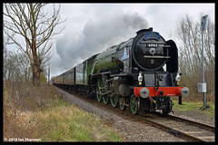 No 60163 Tornado 6th Jan 2019 Nene Valley Railway (Ian Sharman 1963) Tags: no 60163 tornado 6th jan 2019 nene valley railway class a1 462