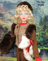Happy Thanksgiving! (The doll keeper) Tags: gene marshall blonde victory curls rolls brown fur good bye new york