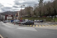 La zona del mercadillo mantiene cerca de 20 plazas de aparcamiento.