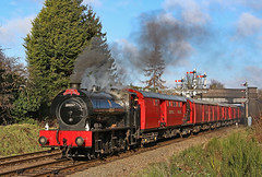 The Irish Mail (gareth46233) Tags: 68067 irish mail tpo travelling post office gcr great central railway royal red