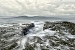 The Perfect Storm (Lee Sie) Tags: seascape ocean reef wave sky clouds water coast west california sea lajolla