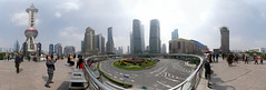 360 degrees Panorama in Pudong area (48 photos) (SpirosK photography) Tags: shanghai china κίνα σανγκάη city urban middlekingdom pudong economiccenter 360 360degrees panorama stitch skyline