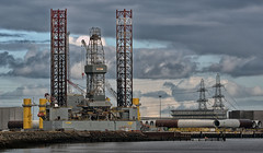 Construction, Teesport (Steve M. Walker) Tags: industry teeside teesport river construction