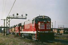 CB&Q U28B111 (Chuck Zeiler 48Q) Tags: cbq u28b 111 burlington railroad ge locomotive denver train alchione chz