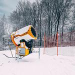 Snow cannon at Pohorje Ski Resort thumbnail