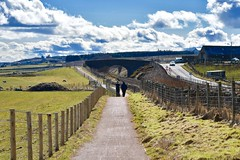 A Long Walk Through The Scottish Countryside - Aberdeen Scotland - 2018 (DanoAberdeen) Tags: dooniesfarm freshair peaceful longwalk tranquil landscape scenery scouting adventure railwaylines railway cloudporn bluesky bridge railwaybridge danoaberdeen camp camping hikie walking walks countryside aberdeen aberdeenscotland aberdeencity aberdeenunionstreet countrywalk scotland 2018 clouds outdoors recent candid amateur ecosse escocia northeast scotch grampian autumn summer winter spring aberdeenshire nikond750 geotagged