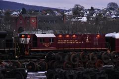 The Brick (csx7661) Tags: norfolksouthern ns railroad railroading engineering trackgeometry altoona altoonaworks pennsylvania blaircount blaircounty nikon photography railfan railfanning