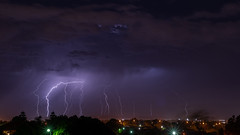 190206_Lightning over Perth Hills_Combined (Pusher141) Tags: nikon d750 50mmf14 niftyfifty lightning perth westernaustralia