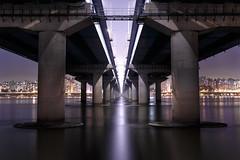 麻浦大橋@mapo bridge (vike chang) Tags: seoul korea bridge night mapo