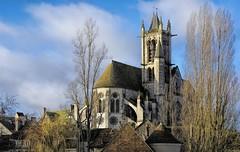 Eglise Notre Dame de la Nativité, XII ème sièle, Moret-sur-Loing. (ychad) Tags: eglise church moret sur loing