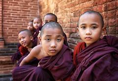 myanmar 2019 (mauriziopeddis) Tags: monk monastery bagan burma birmania myanmar portrait portraits ritratto ritratti people tribe tribal religion canon color face viso children