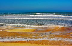 Cuando calienta el sol (Ciceruacchio) Tags: sol sun soleil sole paya beach plage spiaggia losmachucambos sand sable sabbia lowtide maréebasse mer sea mare ocean oceano atlanticcoast costaatlantica côteatlantique southernfrance francia frankreich nikon