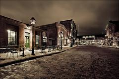 distillery_night_wet_01_8779768904_o (wvs) Tags: distillery night toronto ontario canada can