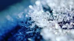 Ice Melting (aadilbricha) Tags: macromonday abstract damaged picktwo