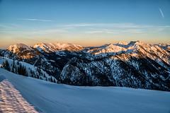 Sonneuntergang am Koflerjoch (stefangruber82) Tags: alpen alps winter snow schnee sunset alpenglühen alpenglow