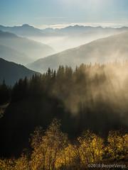 Moncenisio - Vanoise [ Explored ] (beppeverge) Tags: alpi alps autumn autunno beppeverge fall foliage larici valdisere