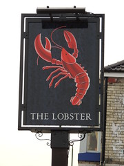 The Lobster (Glass Horse 2017) Tags: publichouse thelobster lobsterroad redcar cleveland painted sign signsunday lobster image crustacean