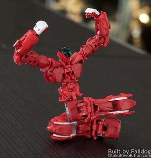HiRM Astray Red Frame Gundam 11 by Judson Weinsheimer