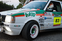 totip (Eduardo F S Gomes) Tags: fiat uno turbo ie 83 carlos sampayo caosergio gonzalez garcia rally de portugal historico 2018 totip nikon d300s f18 35mm italia italian rali rallie race car oz racing rim wheel