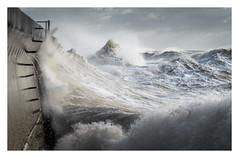 Saltdean - December 9th (Edd Allen) Tags: saltdean sea seaside coast coastal waves storm rain clouds moody atmosphere atmopsheric ethereal serene bucolic nikond810 nikkor70200mm england uk southcoast southeast eastsussex landscape seascape
