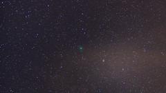 Comète Wirtanen - 46P (Enzo R.) Tags: space dark espace nuit night stars étoiles trees arbres lights nature starrynight ciel comet comète wirtanen 46p nikon tamron sky