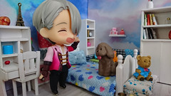 Yuri on Ice Nendoroid (Kulukala Art) Tags: yuri ice nendoroid figure dollhouse diorama rement viktor nikiforov