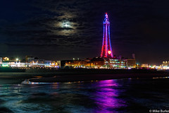 Blackpool's beating heart (m.burke) Tags: d610 night blackpoolilluminations sea lancashire coast blackpool blackpooltower