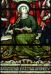 [67966] All Saints, Gainsborough : Forrest Window (Budby) Tags: gainsborough lincolnshire church window stainedglass