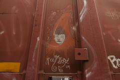 REET BOY (TheGraffitiHunters) Tags: graffiti graff spray paint street art colorful benching benched freight train tracks boxcar moniker streak reet boy