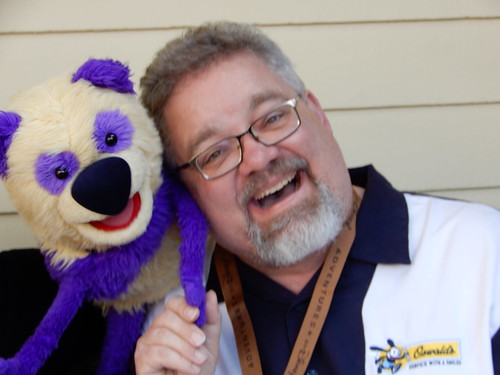 "Scott and a Muppet at the Jim Henson Studios • <a style=""font-size:0.8em;"" href=""http://www.flickr.com/photos/28558260@N04/31932430298/"" target=""_blank"">View on Flickr</a>"