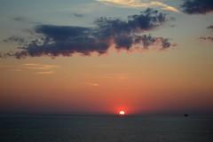Skagerrak Strait Sunset (Seventh Heaven Photography *) Tags: skagerrak strait sunset dusk water sky clouds silhouette red nikon d3200