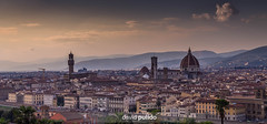 Florence Skyline (David Pulido Gallego) Tags: florence firenze florencia duomo catedral cathedral tower torre towers torres skyline sky cielo dawn atarceder turismo city ciudad architecture arquitectura panorama panoramic panoramica davidpulido pulido