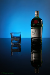 Gin (MikeOB64) Tags: gin tanqueray studio product glass bottle alcohol spirit london dry