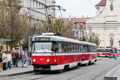 BRN_1651_201811 (Tram Photos) Tags: ckd tatra t3g t3 brno brünn strasenbahn tram tramway tramvaj tramwaj mhd šalina dopravnípodnikměstabrna dpmb
