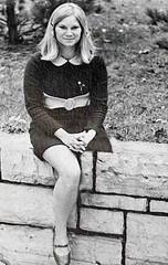 1960s left HD girl (jackcast2015) Tags: amputee amputeewoman amputeelady disabledwoman disabledladies crippledwoman crippled crippledlady crutches monopede miniskirt