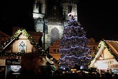 Christmas tree (polarkac) Tags: prague christmastree oldtownsquare czechrepublic christmas winter