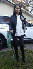 December (Foxywalk) Tags: asian chinese black heel boots leather lady portrait 過膝長靴 人像 長靴 靴 高跟靴 黑靴 thighthigh knee overtheknee thighhigh 过膝长靴