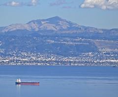 Mount Diablo, SF Bay, tanker, (David McSpadden) Tags: mountdiablo sfbay tanker