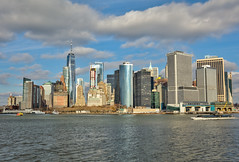 South Manhattan (Mike Snape) Tags: manhattan newyork bigapple usa america unitedstates hudson city skyline hudsonriver river skyscraper skyscrapers