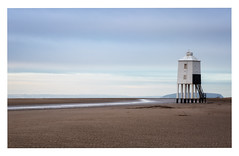 The Low Lighthouse (Rich Walker Photography) Tags: burnham lighthouse beach beaches coast coastline somerset sky sand clouds cloud landscape landscapes landscapephotography landmark landmarks canon england efs1585mmisusm eos eos80d