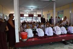 Buddhist monks at Maha Ganayon Kuang monastery in Amarapura, Mandalay region (5) (Prof. Mortel) Tags: myanmar burma amarapura buddhist monks