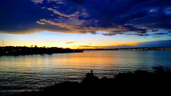 Brasília - Sunset (sileneandrade10) Tags: sileneandrade brasília céu sunset pôrdosol crepúsculo hdr photoedition photoart samsungsmg930f samsung reflexo água lago lagoparanoá