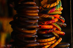 Wooden bangles - Product photography series - 01 @ munnar (Dinu Dinesh Kumar) Tags: bangles wooden munnar kerala india southindia indianphotography photography product productphotography dinuarts warmtones street streetphotography