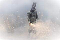 Enfarinats (Txeny4) Tags: ibi enfarinats alicant fiestas de invierno humo fuego borrachos oposicio canon 6dmii 70200 ii 28