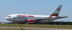 N440XS at Kemble (chrysanyo) Tags: canada3000 kemble uk usa airliner airbus a310
