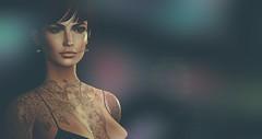 Starlings without Flocks (Saga Mea) Tags: secondlife sl avatar digitalart 3d 3dart 3dgirl woman portrait
