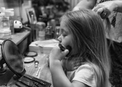 Beauty Lesson / Урок красоты (dmilokt) Tags: портрет portrait ребенок child dmilokt чб bw черный белый black white nikon d850